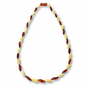 """Spiral"" Amber Beads"