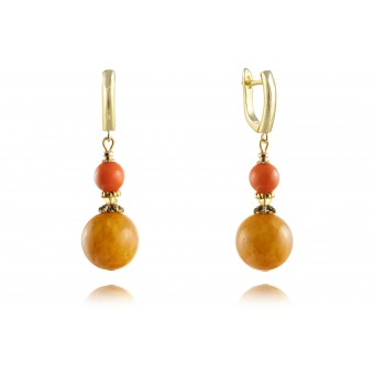 """Gaugin"" Earrings"