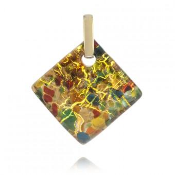 """""""Kandinsky"""" Murano glass pendant"""