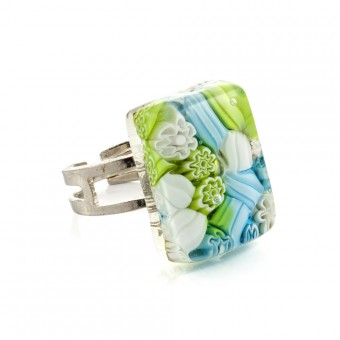 """""""Monet"""" Murano glass ring"""