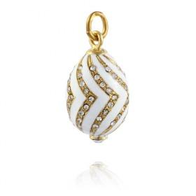 """""""Zigzag"""" Brass pendant"""