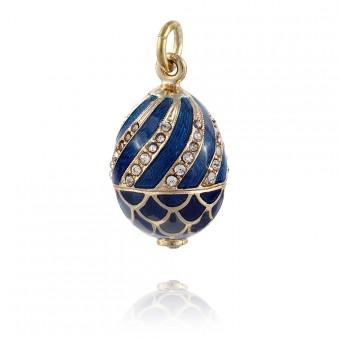 """Basket"" Brass pendant"