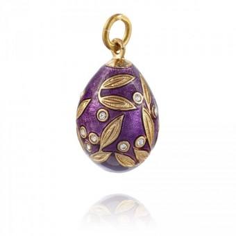 """""""Snowdrop"""" Brass pendant"""