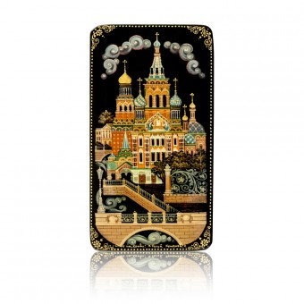 "Lacquer Box ""The Church of the Savior on Spilled Blood"" Kholuy"