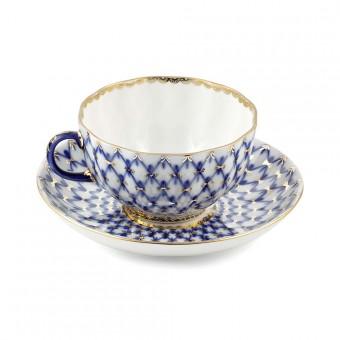 """Tea-cup and Saucer Set """"Tulip"""""""