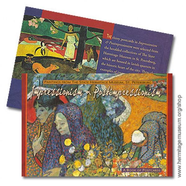 Impressionism And Postimpressionism. A Book Of Postcards