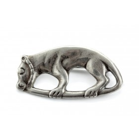 """Panther"" Silver pendant"